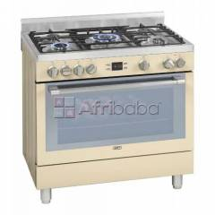 Defy 5 burner stainless steel gas electric stove - dgs162