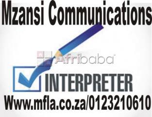 Interpretation services