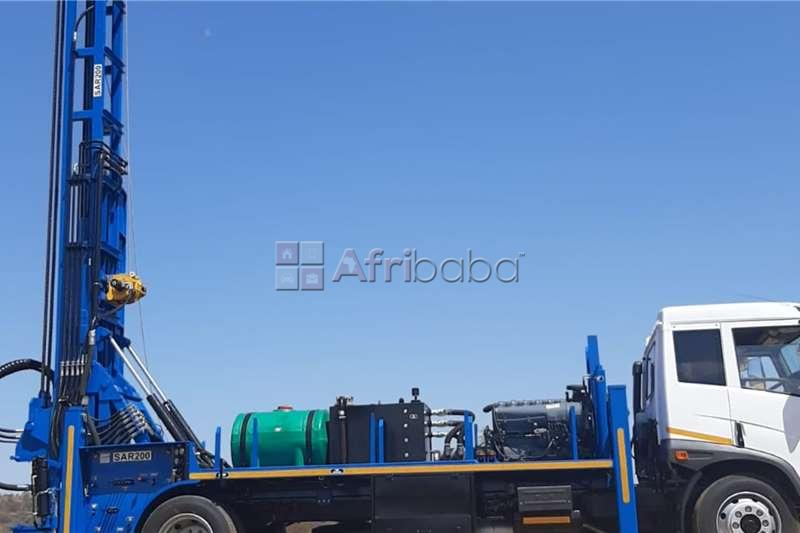 sar200 5 on faw 15.180 drill rigs forsale #1
