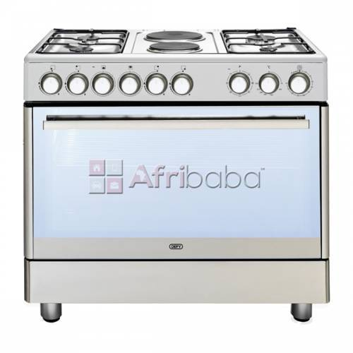 Defy 90cm stainless steel gas/electric stove - model no: dgs158