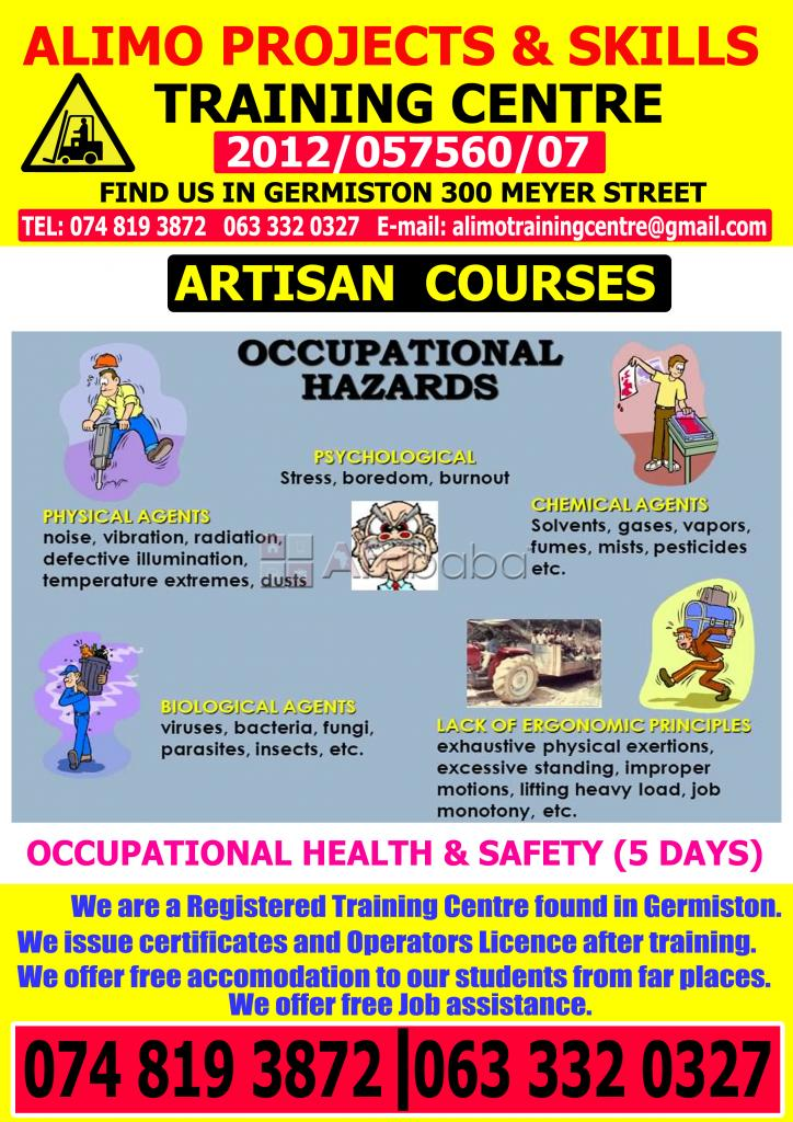 Dumptruck training center and boiler makers courses in germiston #1