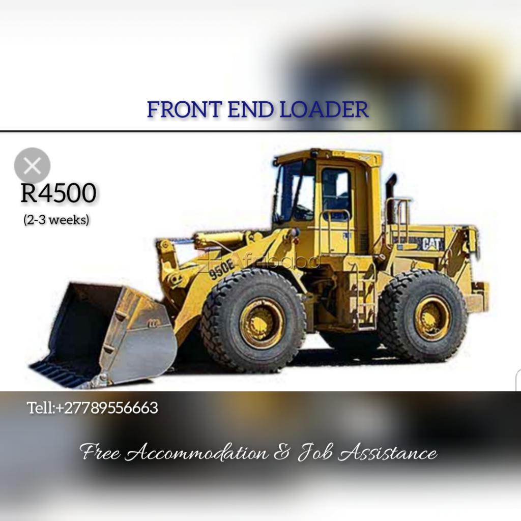 Front end loader training in brits