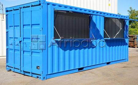 """6"""" Meter (20ft) Tuck-shop Container. #1"""