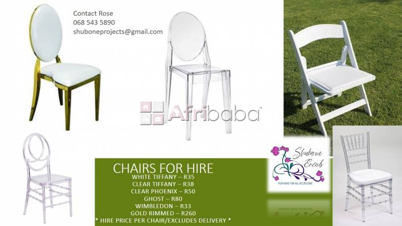 Chairs for hire #1