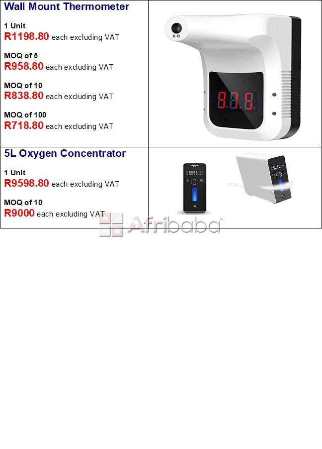 Oximeter medical & non-medical, thermometers & oxygen concentrators #1