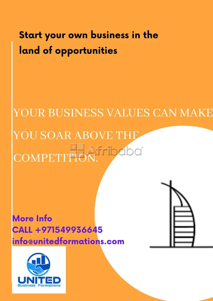 """Start your dream business in tax free haven """" dubai"""""""