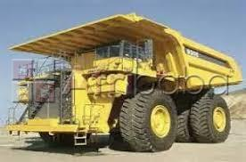 On-point  operators adt  dumper truck on ground and on mining site #1
