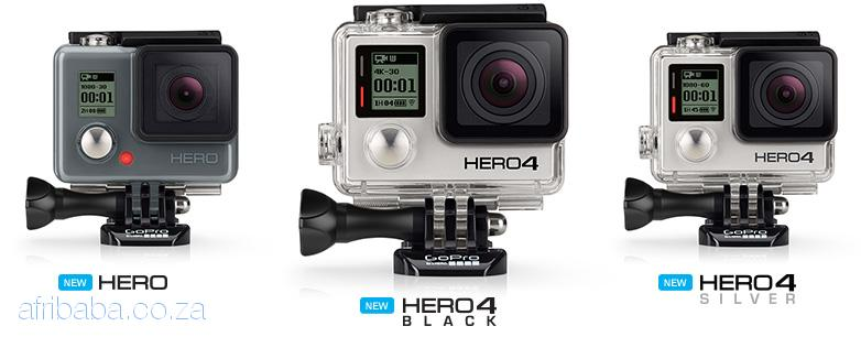 GoPro Hero4 Black Action Camera With Free 32 GB SD Card