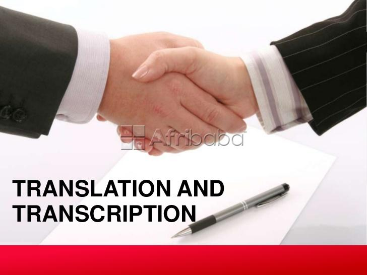 Translation and interpretation services in south africa