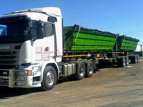 A 34tone truck for hire in western cape