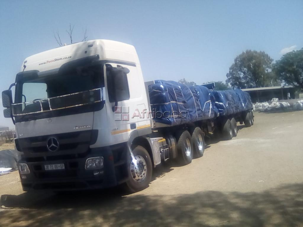 2013 Mercedes Benz Actros with superlink trailer for sale