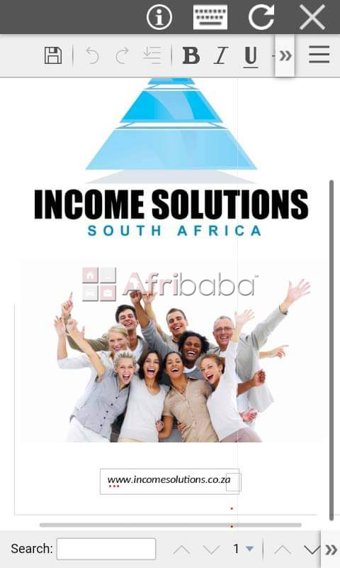 The Income Solutions of South Africa #1