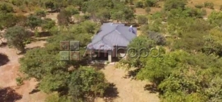 Three bedrooms house in chisamba on 63 hectares of land