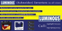 Inverters,Batteries and Solar Panels