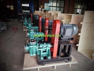 Centrifugal Horizontal Heavy Duty Slurry Pump