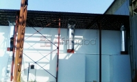 Spray booths/modular buildings/heating/zoned lighting supplier